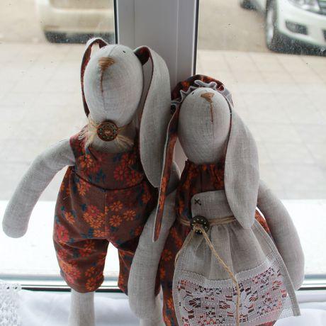 деткам работы ручной зайчикитильды куклы