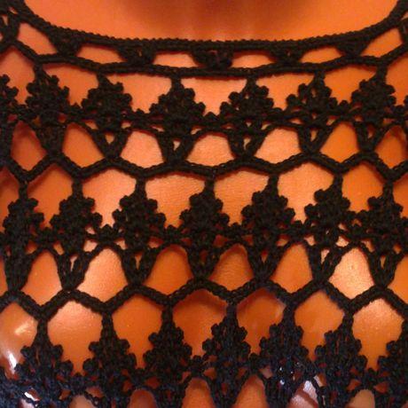 черное отдыха ажурное для платье