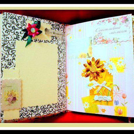 женщинам альбомы и лент подарки изделия дизайнерская фото ручная авторская блокноты скрапбукинг рождения фотоальбомы продажа купить день из бумажные работа бумага цветы