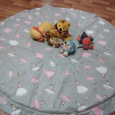 игра игрушки коврик мешок дети