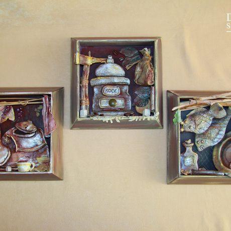 подарок женщине декор 3d картины интерьер кухня