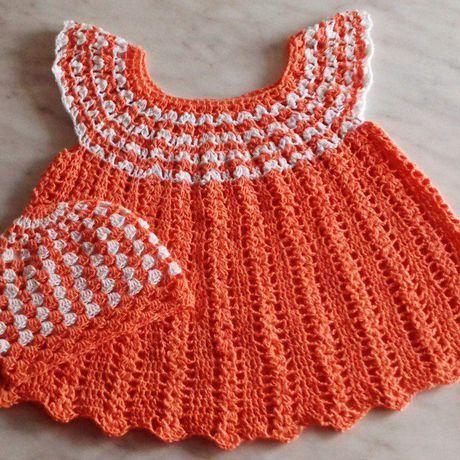 сарафан одежда вязание шапочка длядетей крючком комплект назаказ наголову платье длямалышей панамка