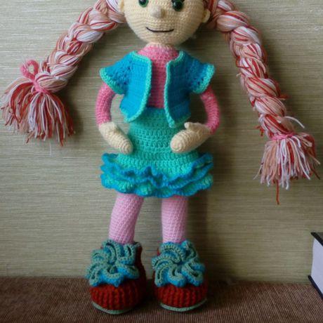 игрушка кукла детей для вязанье