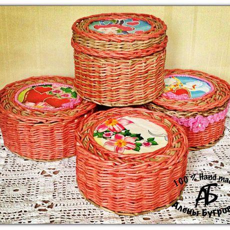 шкатулка женщинам праздник плетение подарок