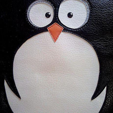 аппликация пингвин стильная_вещь