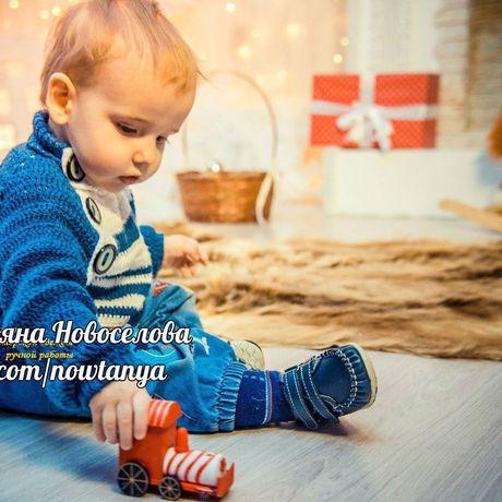 деткам кофта nowtanya длямалышей свитерок маленькиммужчинам детям своимируками ручнаяработа