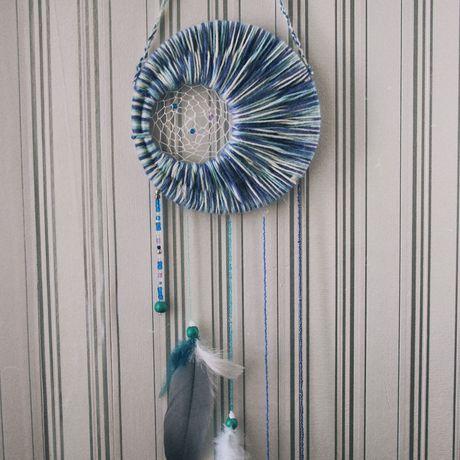 handmade перья дизайн ловецснов ночь оберег ловец снов сны dreamcatcher хорошийсон украшение ручнаяработа спальня подарок
