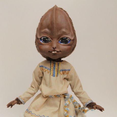 handmade инопланетянин ручная работа кукла