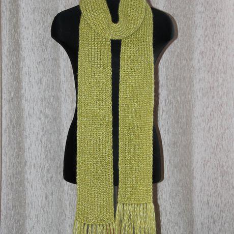 шарф ручная длинный вязка