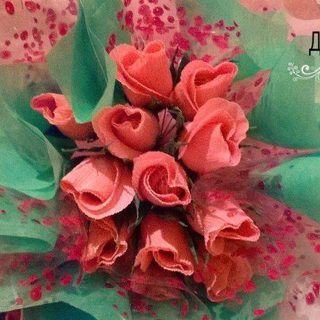 сладкий конфет букет конфетами розы из с подарок