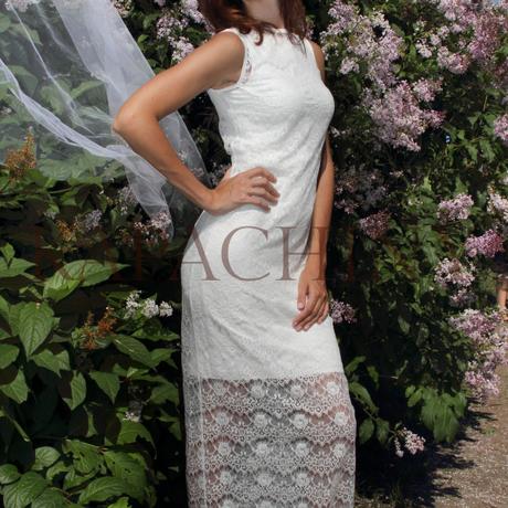 белоеплатье gabriel капачини kapachiny платье