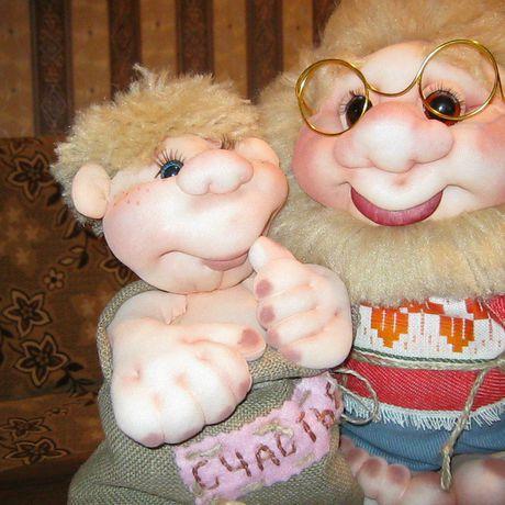 чулочные подарки куклы авторские сказочные персонажи