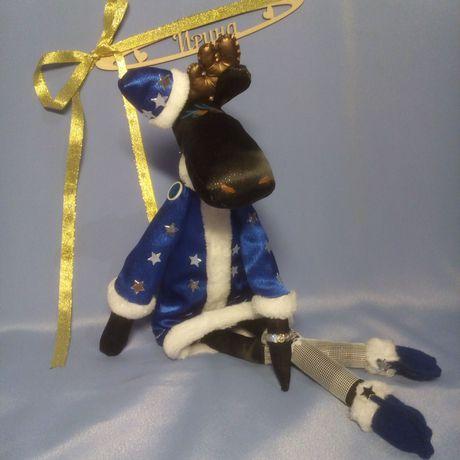 подарки ручнаяработа игрушкиизткани праздник
