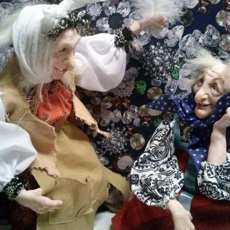 кукла куклы оберег сказка русская баба яга ксении орловой