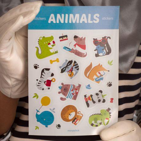 знаквнимания animals gift сюрприз стикеры surprise наклейки животные подарок