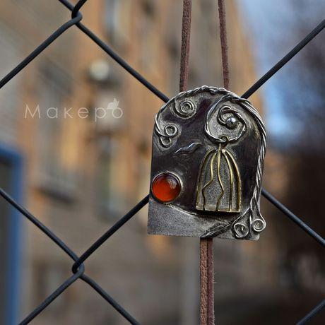 кулонгалстук серебра серебряная кулонизсеребра серебряныйкулон серебрянаяподвеска подвескаизсеребра серебряный украшение брошь подвеска ручнаяработа кулон
