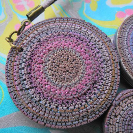 подаркиручнойработы proglina белоусоваанна украшения серьги handmade бижутерия своимируками комплект кулон полимернаяглина