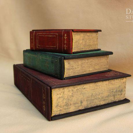 шкатулка книги бижутерия тайник мужчине женщине старина подарок