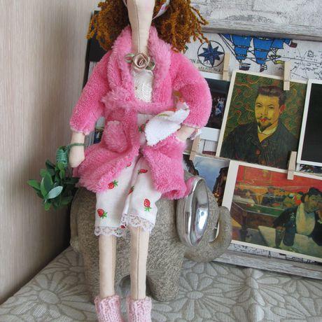 новоселье баня домохозяйка кукла тильда подарок