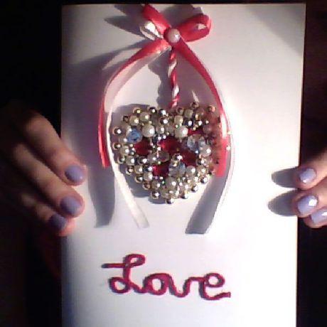 открытка любовь