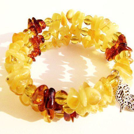 оранжевый браслет янтарный янтарь купить коньячный жёлтый янтаря