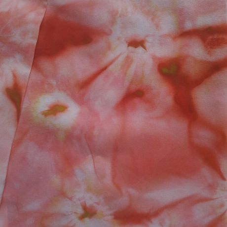 весенний шарф женский шёлковый узкий