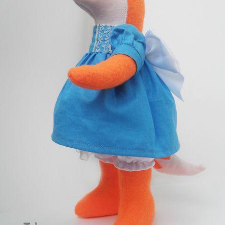 интерьерная работы белый ручной игрушка синий лиса мягкая кукла текстильная рыжий оранжевый подарок