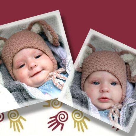 спицами ушамиушастая и связанное шапка аксессуары ручная детские детям шляпы шапки продажа купить шапочка работа