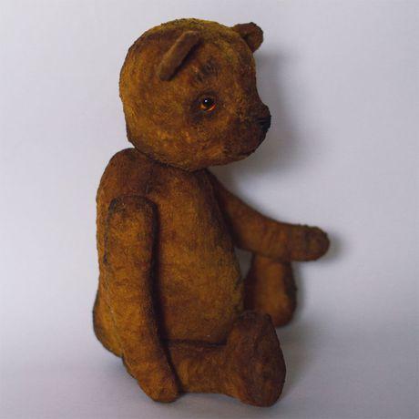 медведь медвеведьвинтажвинтажный медведьопилкиплюшевый