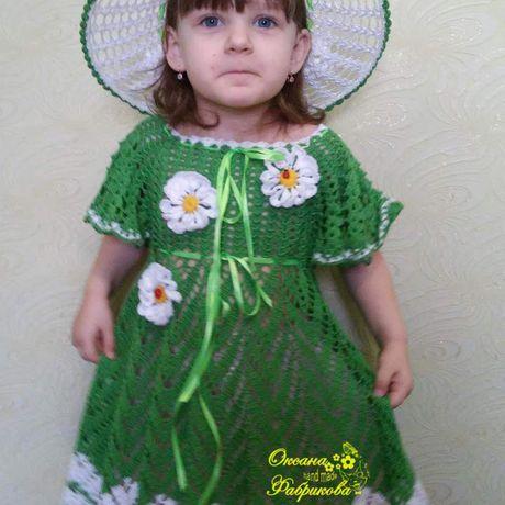 детское девочки летняя шляпка ажурное летнее вязание для детям крючком на заказ вяжу платье детскеое шляпа хлопок100