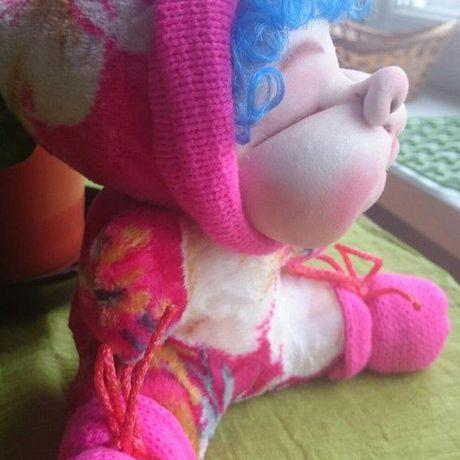 ручная работа кукла скульптурныйтекстиль подарок