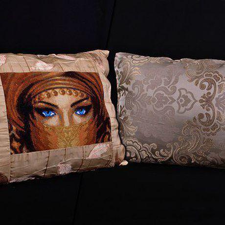 ориенталь вышивка декор дома печворк подушки для интерьер