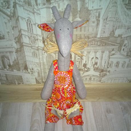 игрушка тильда наподарок солнечныйжираф жираф интерьернаяигрушка