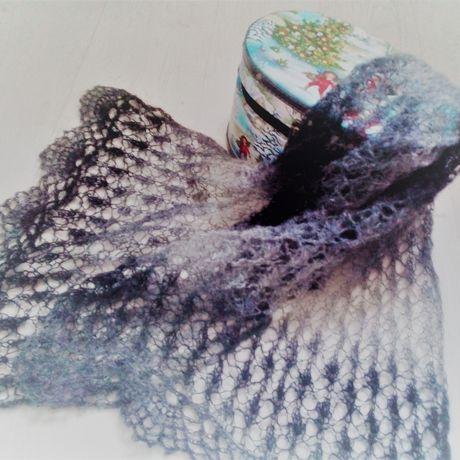шарф заказ вязаниена палантин