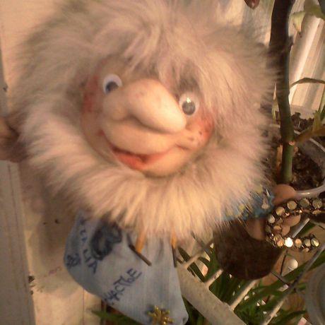 игрушкаизкапрона кукла домовой ручнаяработа подарок