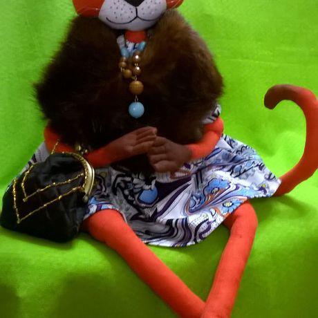 работы ручной кукла кошка авторская работа