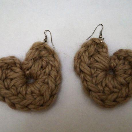 серьги handmade вязание firitaeshop