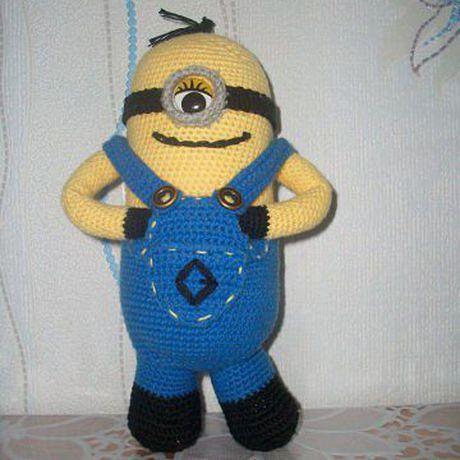 вязание миньон любимыегерои банана мультфильмы детям вязаниекрючком длядетей подзаказ
