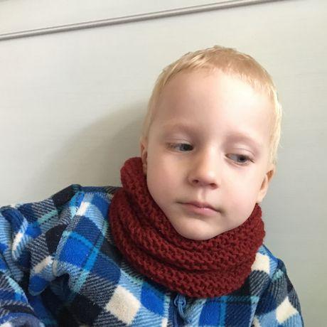 спицами вязание детский снуд петербург санкт