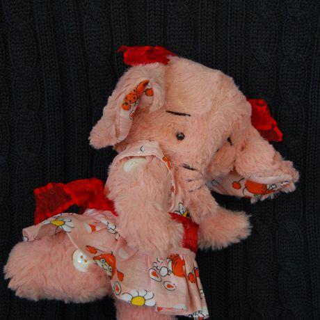 игрушка работы ручной тедди ручная слоник авторская работа