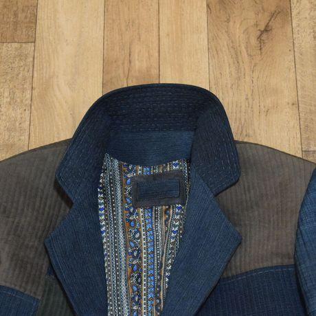 джинс одежда кожа мужчинам кэжуал купить стиль своимируками hendmade пиджак креатив мода