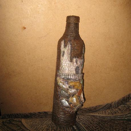 бутылки папье маше