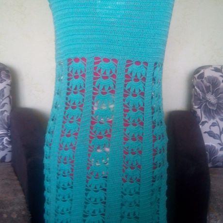 сарафан вязание крючком пляжное платье