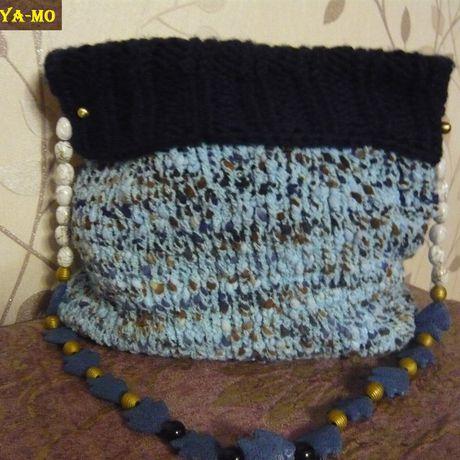 сумка спицы вязание ручнаяработа своимируками оригинально назаказ необычно тёплая