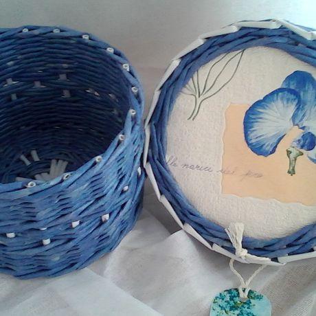плетеная элемент декора оригинальный шкатулка ручная работа девушке подарок