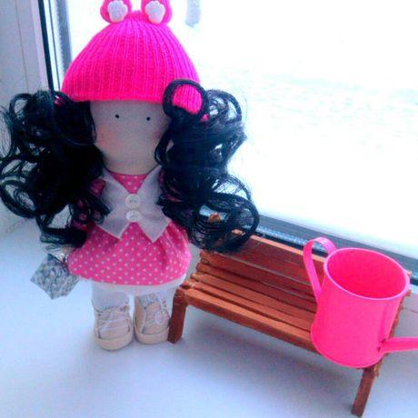 работы кукла ручной интерьерная hand made