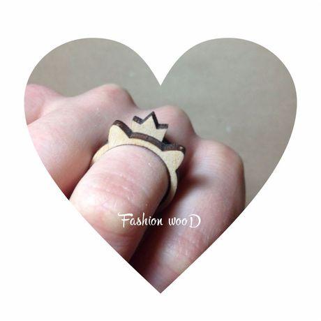 сюрприз кольцо 14февраля fashionwood деревянноекольцо радость подарок