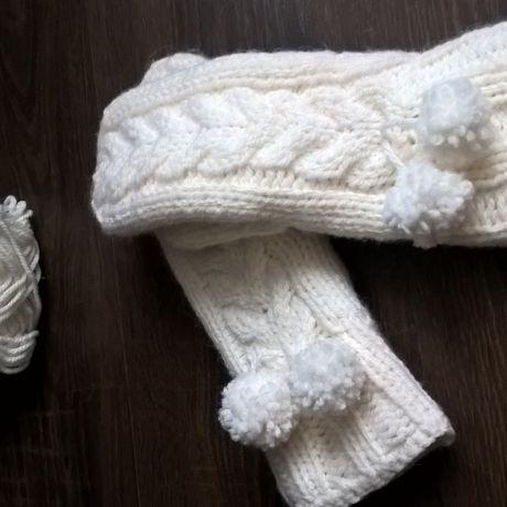 двойные теплые зимние работа варежки