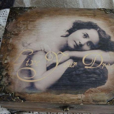 старины старинная работы ручной имитация шкатулка девушке подарок