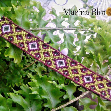 индейский плетеное фенечка стиль этно